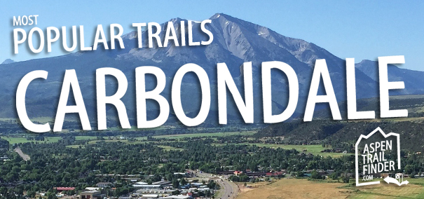 popular trails in carbondale